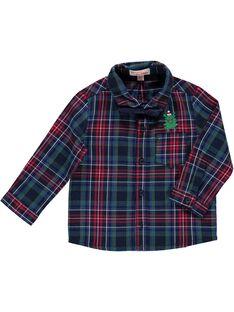 Baby boys' checked shirt DUCRACHEM / 18WG10R1CHM099