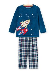 Set pigiama motivo spazio fosforescente bambino MEGOPYJFUZ / 21WH1297PYJC214
