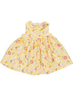 Baby girls' sleeveless dress CIPIROB2 / 18SG09I2ROB099