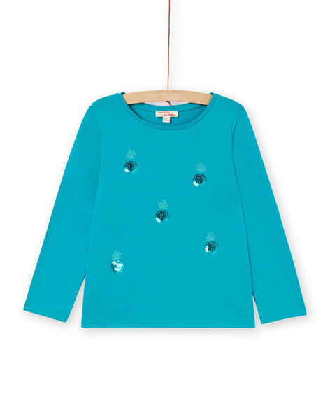 T-shirt blu LAJOTEE4 / 21S90133D32C216