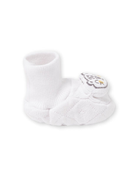 Babbucce bianche nascita LOU1CHOS / 21SF42H1CHP000