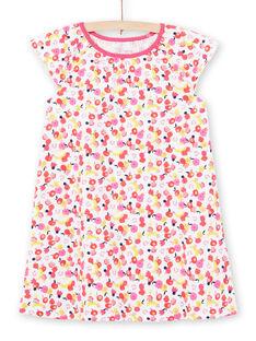 Camicia da notte bianca bambina LEFACHUFRU / 21SH11C1CHN000