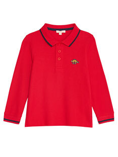 Red POLO SHIRT KOJOPOL4 / 20W90251D2DF518