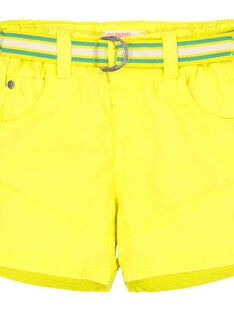 Bermuda gialli neonato FUCABER1 / 19SG10D1BER117