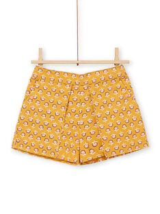 Yellow SHORTS LAPOESHORT / 21S901Y1SHO107