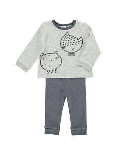 Unisex babies' fleece set DOU2ENS2 / 18WF05M2ENS943