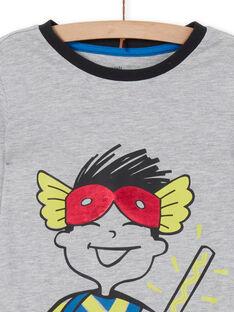 Completo pigiama t-shirt e leggings grigio bambino LEGOPYJMAN2 / 21SH12S2PYGJ922