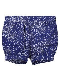 Shorts con stampa in cotone neonata FINESHO / 19SG09B1SHO703
