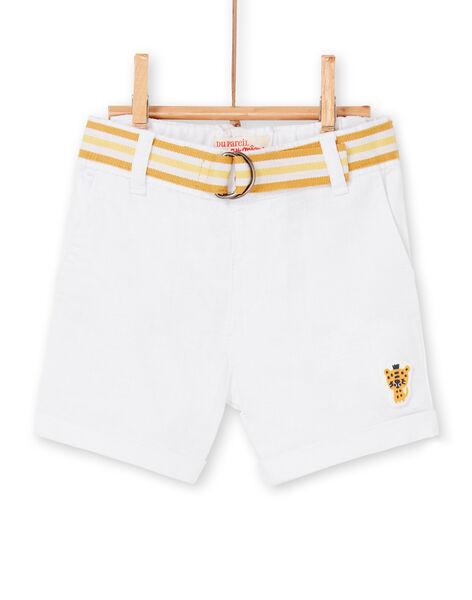Bermuda bianchi neonato LUBALBER / 21SG10O1BER000
