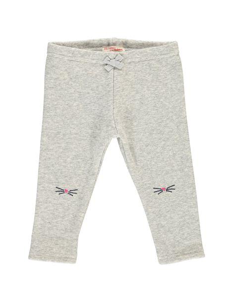 Baby girls' fleece leggings DIJOPAN4 / 18WG0934PAN943