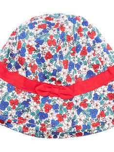 Cappello bambina con motivo a fiori JYAJAHAT2 / 20SI01B2CHA001