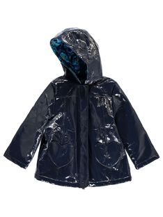Girls' hooded raincoat DABLEIMPER / 18W90161IMP070