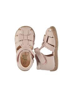 Sandali da città pelle neonata FBFSANDHER / 19SK37K1D0E030