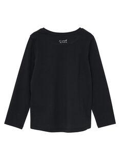 T-Shirt Maniche Lunghe Nera JAESTEE5 / 20S90163D32090