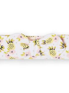 Fascia bianca, gialla e rosa neonata LYIBALBAN1 / 21SI09O1BAN000