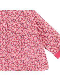 Baby girls' quilted jacket CIHOVESTE / 18SG09E1VES099