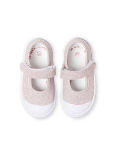 Scarpe baby rosa con glitter neonata LBFBABLUREX / 21KK3742D17301