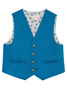 Blue Sleeveless Jacket JOJAGIL / 20S902B1GSMC235