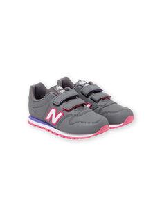 Sneakers grigie e rosa New Balance bambina KFYV500RGP / 20XK3523D37940
