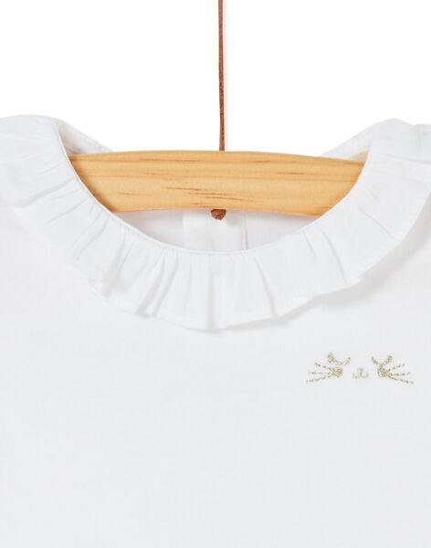 White BABY BLOUSE KIJOBRA1 / 20WG0933BRA000