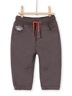 Grey PANTS LUPOEPAN1EX / 21SG10Y3PANJ916