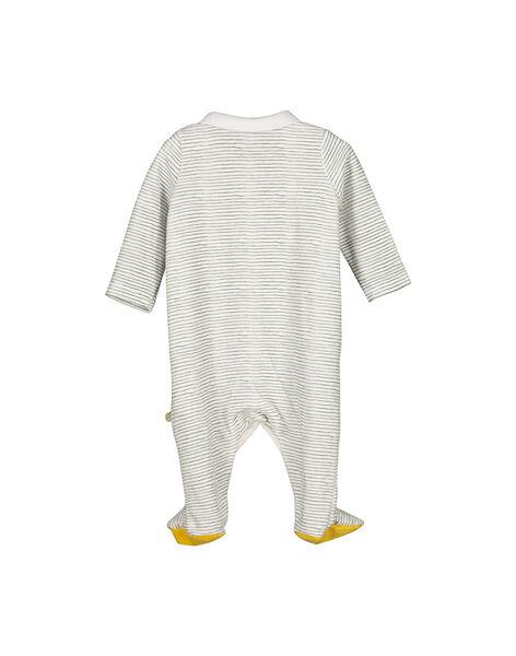 Pigiamino in velluto neonato unisex FOU1GRE3 / 19SF0513GRE099