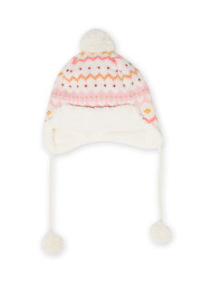 Berretto in maglia motivo cerbiatto neonata MYISAUBON1 / 21WI0954BON001