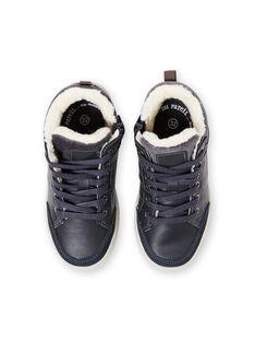 Sneakers navy bambino GGBASBOY / 19WK36I1D3F070