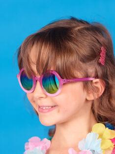 Occhiali da sole rosa bambina LYAMERLUN2 / 21SI01D2LUN304