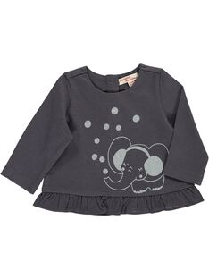 Baby girls' long-sleeved T-shirt DIJOTEE6 / 18WG0936TML941