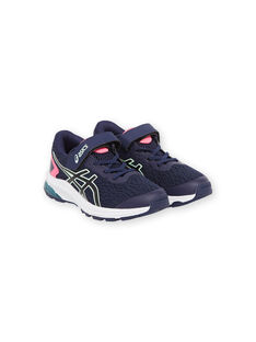 Navy SNEAKERS KFGT10009PS / 20XK3521D4Q070