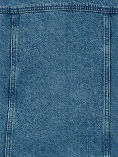 Giacca in jeans blu in cotone LANAUVEST / 21S901R1VESP274