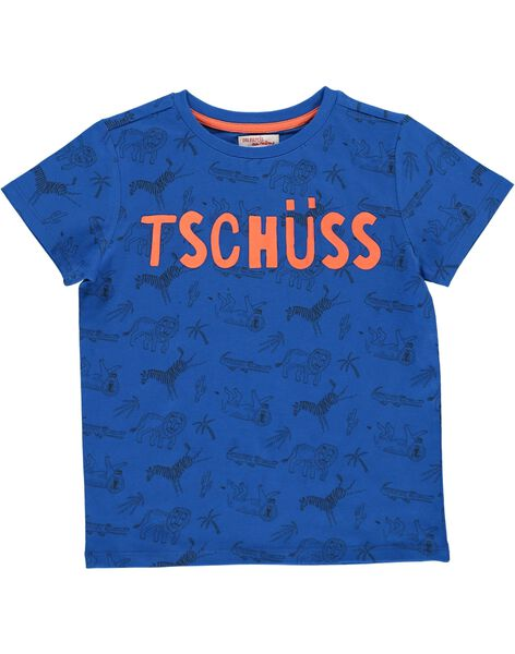 Boys' short-sleeved T-shirt COGAUTI6 / 18S902L6TMCC209