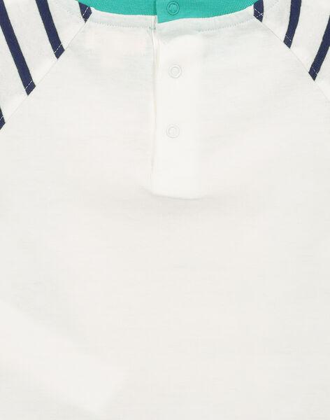 T-shirt double face neonato FUNETI2 / 19SG10B2TMC000