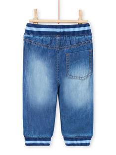 Jeans denim elasticizzati neonato MUJOJEAN / 21WG1011JEAP274