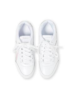 Sneakers Reebok bianche bambina GFDV9019 / 19WK35P2D36000
