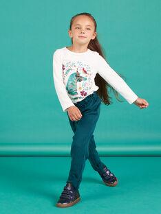 Pantaloni paper bag milano a quadri bambina MATUPANT / 21W901K1PAN070