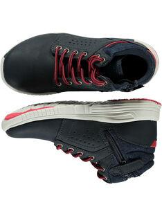 Sneakers navy bambino GGBASOLE / 19WK36I3D3F070