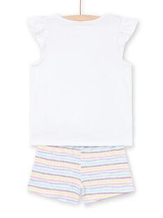 Pigiama shorts unicorni bambina MEFAPYJRAY / 21WH1131PYJ000