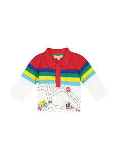 Polo a maniche lunghe neonato FUCOPOL / 19SG1081POL099