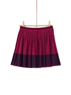 Purple SKIRT KAECOJUP1 / 20W901H1JUPH704