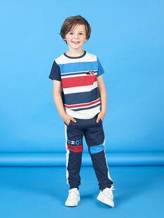 Pantaloni sportivi blu notte bambino LOHAJOG / 21S902X1JGB705