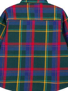 Camicia a Quadri Multicolore GOMUCHEM / 19W902F1CHMG626