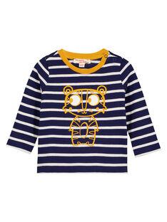 Navy T-shirt GUJOTIRAY4 / 19WG1042TML070