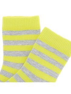 Baby boys' mid length socks CYUJOCHO2B / 18SI10R3SOQ099