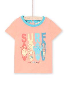 T-shirt maniche corte pesca bambino LUBONTI3 / 21SG10W2TMCD311