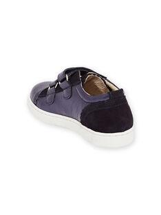 Sneakers basse navy effetto iridescente bambina MABASVEL / 21XK3554D3F070