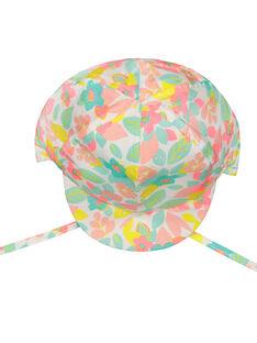 Cappellino a fiori neonata FYICHA / 19SI09K1CHA099