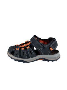 Sandali da città bimateriale bambino FGSANDIMA / 19SK36D2D0E070