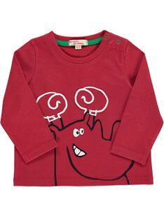 Baby boys' fancy long-sleeved T-shirt DUJOTEE4 / 18WG1034TML510